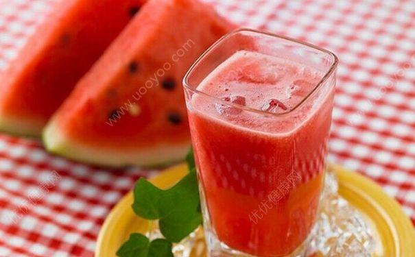 运动前喝杯西瓜汁有什么好处?西瓜汁为什么能缓解肌肉酸痛?[图]