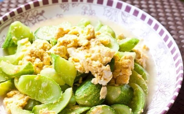 鸡蛋黄瓜怎么吃减肥?鸡蛋黄瓜的做法有哪些?[图]