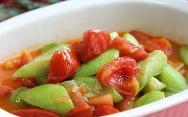 丝瓜和西红柿能一起吃吗?丝瓜能和番茄一起炒吗?[图]